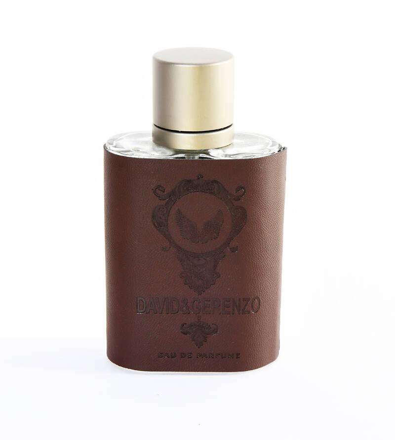 David&Gerenzo Kahverengi Deri Kılıflı Erkek Parfüm