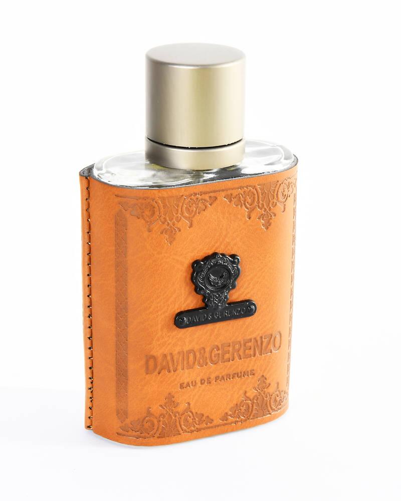 David&Gerenzo Taba Rengi Deri Kılıflı Erkek Parfūm